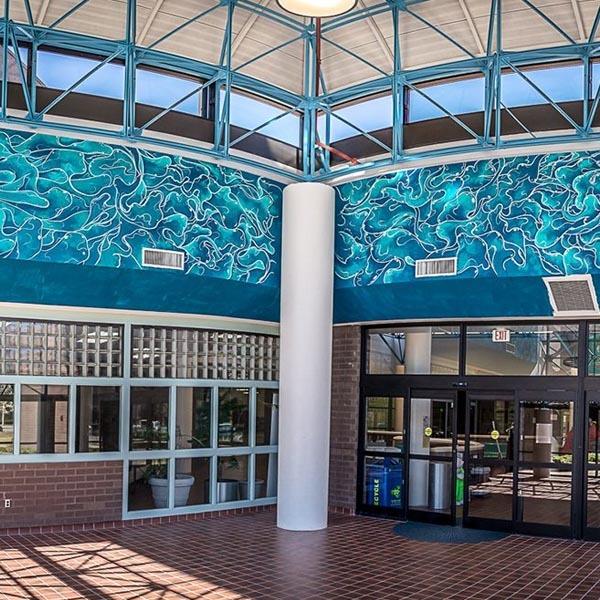 Bayside Rec Center Mural